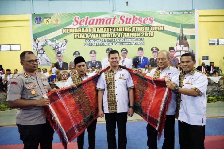 Wali kota: kejuaraan karate  wujud pembinaan prestasi olah raga
