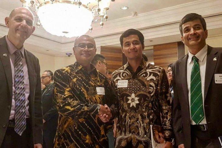 Hangga Yudha, milenial jabata Presiden Asosiasi Alumni Michigan State University