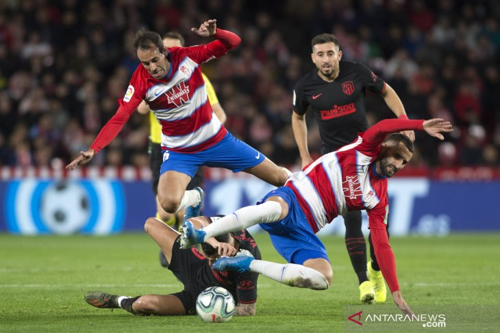 Liga Spanyol - Atletico  bawa pulang satu poin dari lawatan ke markas Granada