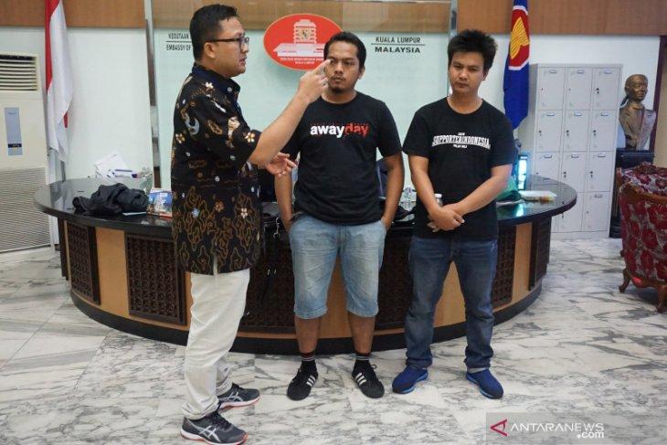 Suporter asal Bali dibebaskan Polisi Diraja Malaysia