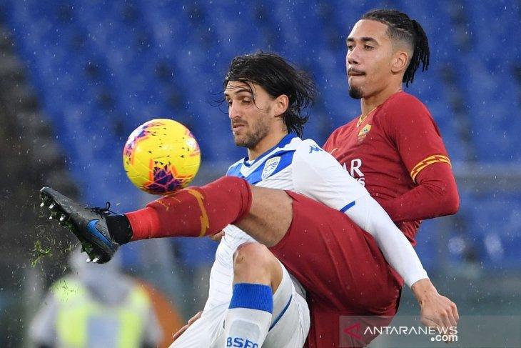 Hasil Liga Italia, Smalling bawa Roma taklukan Brescia 3-0