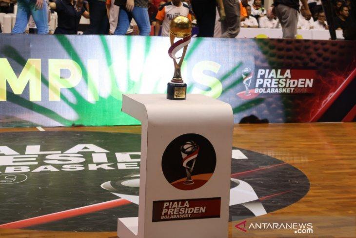 Uang hadiah Piala Presiden Bola Basket dijanjikan cair
