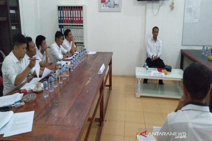 Ahmad Husein paparkan visi dan misi di partai Gerindra Madina