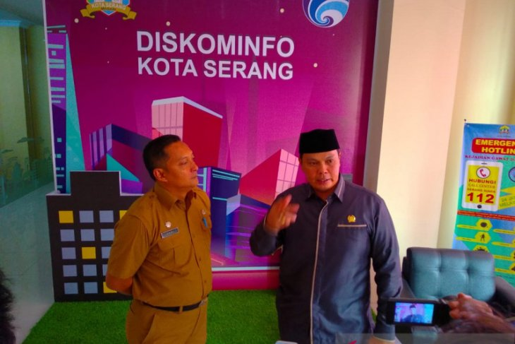 Ketua DPRD Kota Serang mendadak kunjungi diskominfo