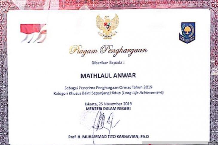 Mathla'ul Anwar Raih Penghargaan dari Kemendagri