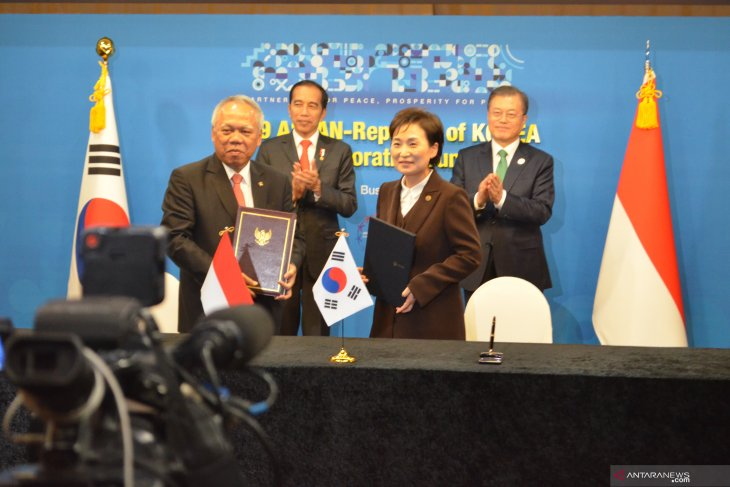 Indonesia, Korea ink MoU to collaborate on capital city relocation