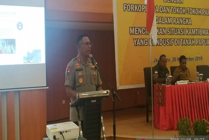 Papua police chief chairs meeting before OPM's anniversary