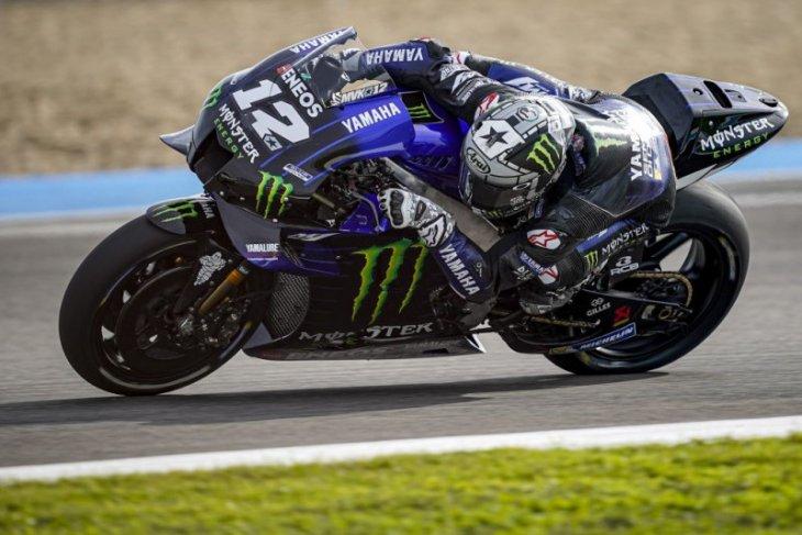 Pada tes resmi MotoGP di Jerez, Vinales dan Quartararo ungguli Marquez