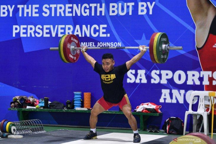 Eko Yuli targetkan total angkatan 310 kilogram di SEA Games