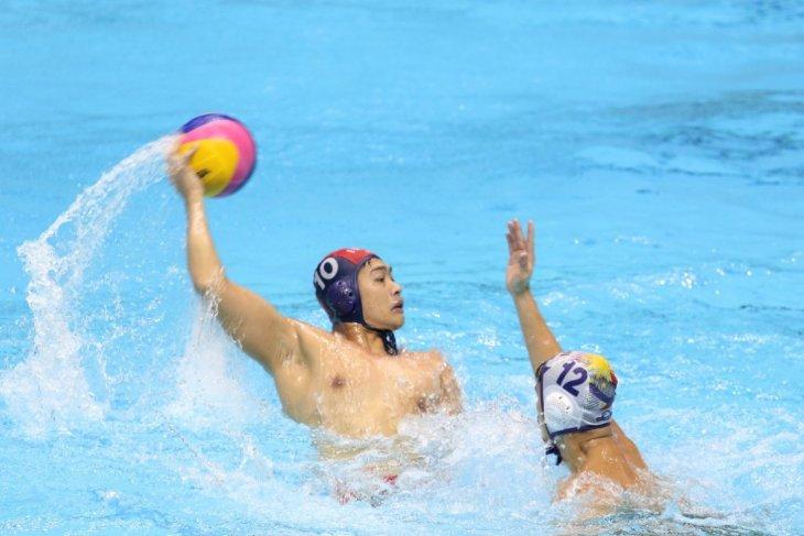 Indonesia ditahan Filipina 6-6 pada laga pertama polo air putra