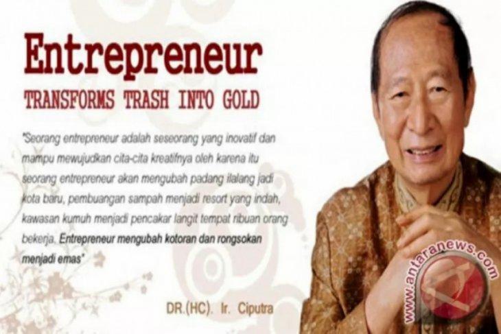 Pengusaha Ciputra meninggal, sekelumit perjalanan hidup dan bisnisnya