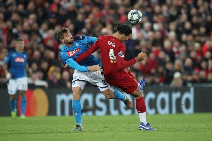 Napoli imbangi Liverpool 1-1