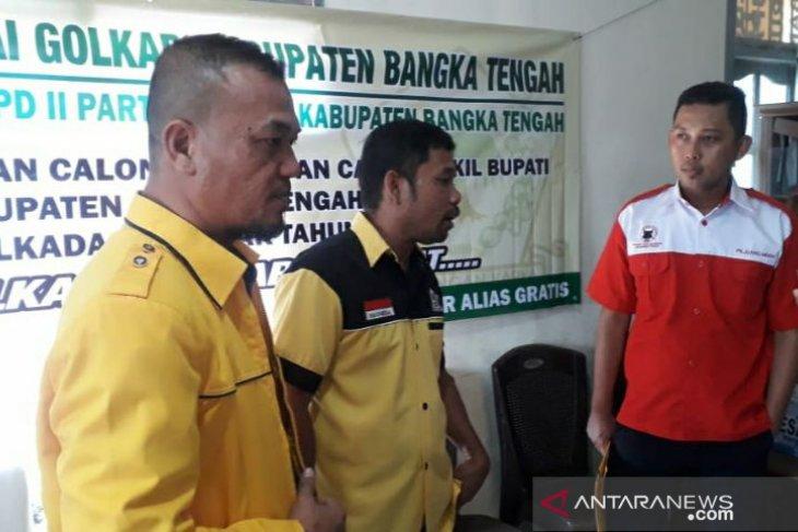 Dua kandidat kuat Kepala Daerah mendaftar di Golkar
