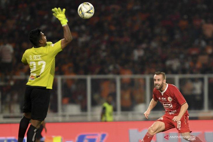 Ambisi kiper Persipura Dede Sulaiman lanjutkan Liga 1 pupus akibat cedera