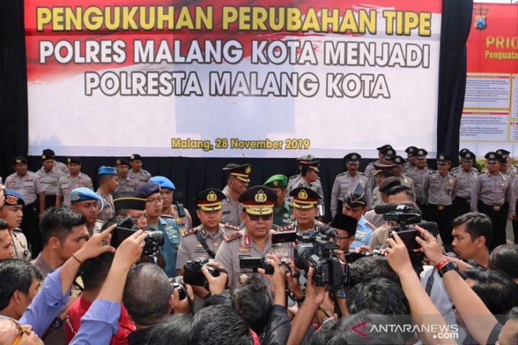 Polda: Wilayah hukum Polresta Malang Kota akan diperluas