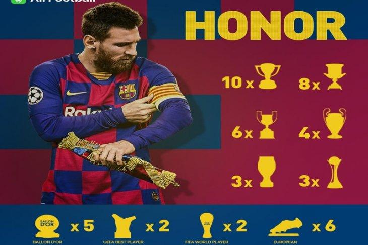 Messi dinobatkan sebagai playmaker terbaik 2019