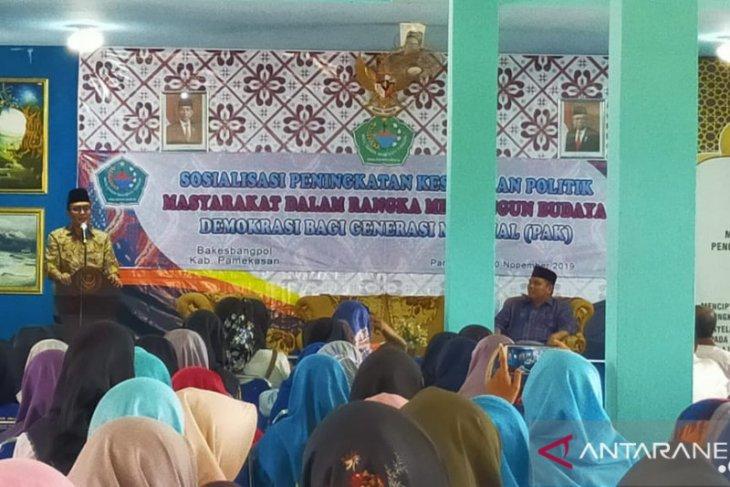 Bupati Baddrut Tamam dorong mahasiswa Pamekasan tingkatkan budaya literasi