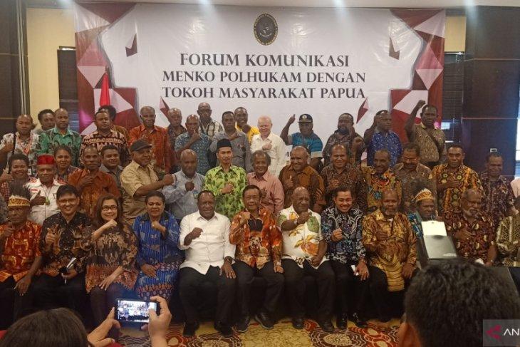 Menkopolhukam berdialog dengan para tokoh Papua