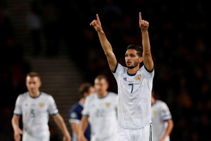 Rusia percaya diri untuk lewati fase grup Euro 2020