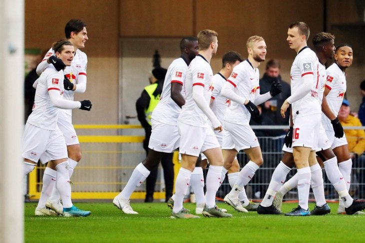 Hasil dan klasemen Liga Jerman: Leipzig ambil alih posisi puncak