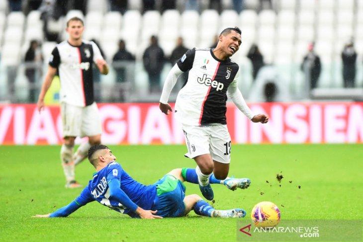 Juventus kehilangan dua poin usai  ditahan imbang Sassuolo