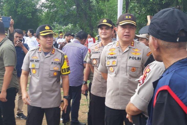 Kapolda Banten Irjen Pol Tomsi Tohir pantau Pilkades serentak di Kabupaten Tangerang