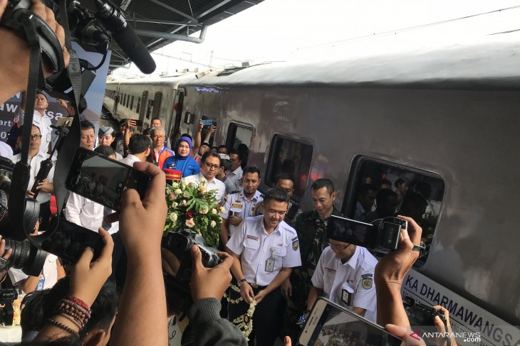 PT KAI launches Dharmawangsa train