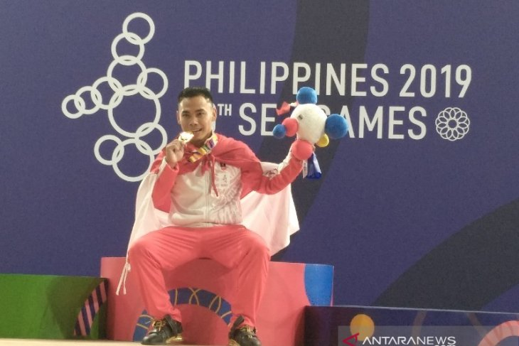 Eko Yuli Irawan rebut medali emas SEA Games