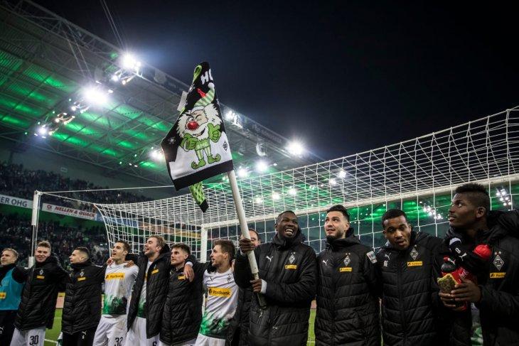 Monchengladbach kembali rebut posisi puncak setelah kalahkan Freiburg  4-2