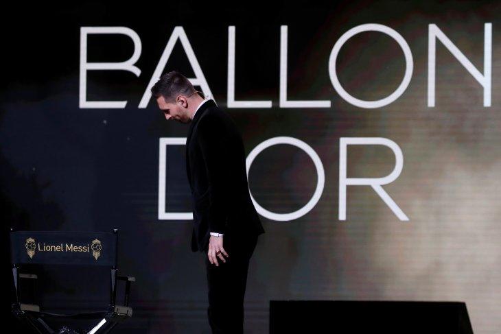 Lionel Messi raih Ballon d'Or
