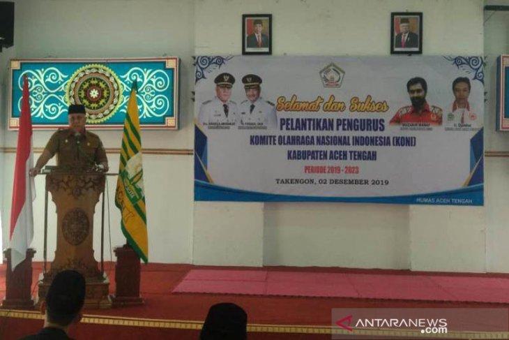 Aceh Tengah Perbubkan CSR swasta untuk pembinaan cabang olahraga