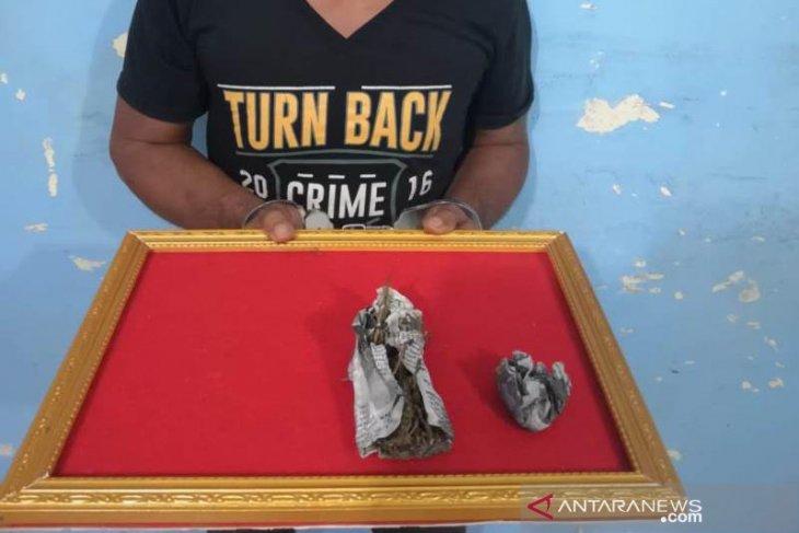 Bawa ganja, warga Sumut ditangkap Polres Abdya