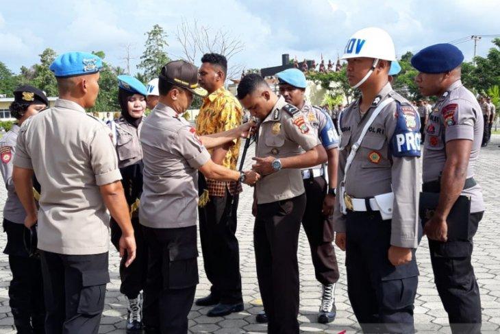Sembilan Bintara Polda Papua Barat diberhentikan tidak hormat