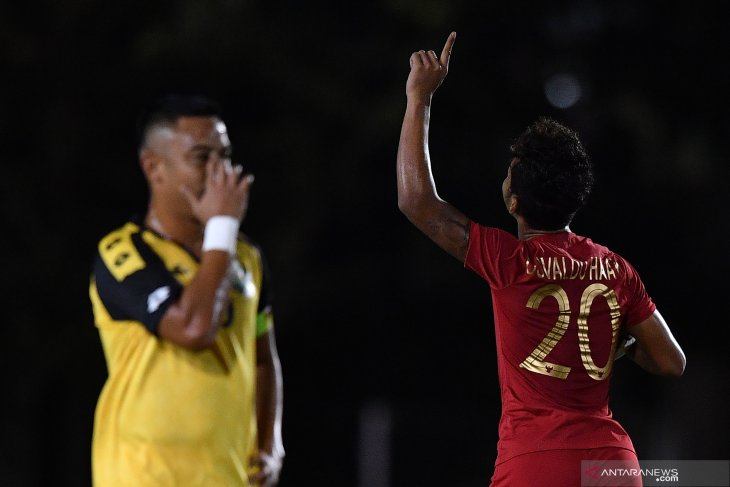 Gasak Brunei 8-0, Osvaldo Haay cetak