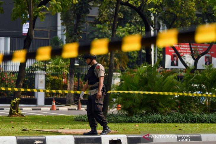 Kapolda sebut ledakan di Monas berasal dari granat asap