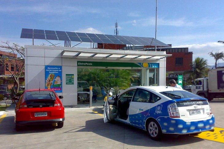 Mobil listrik dan udara bersih untuk ibu kota Jakarta