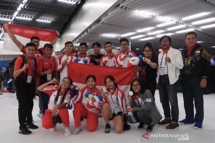 Speed skating Indonesia tampakkan taji di SEA Games