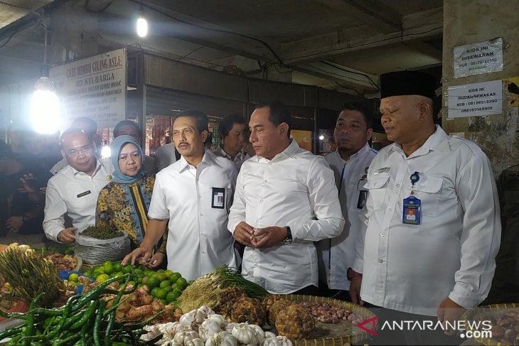 Jelang Natal dan Tahun Baru, Kemendag tinjau pasar di Medan