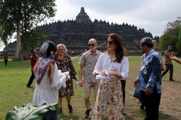 Puteri Kerajaan Denmark kunjungi Borobudur