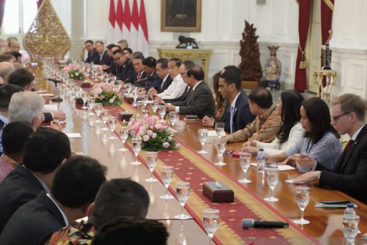 President Jokowi receives US-ASEAN Business Council delegation