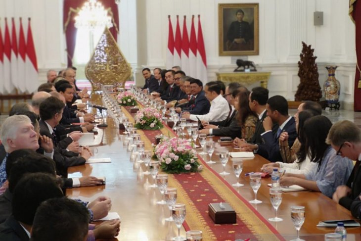 Jokowi upbeat about US businesses tapping opportunities in Indonesia