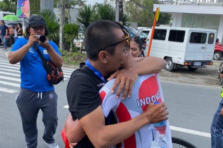 Aiman Cahyadi raih emas pertama balap sepeda untuk Indonesia