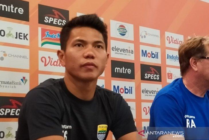 Bek Persib, Ahmad Jufrianto minta maaf terkait  gol bunuh diri