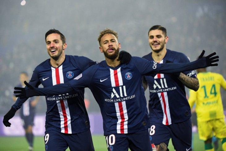 Liga Prancis - PSG kembali perlebar jarak dari Marseille, setelah tundukan Nantes