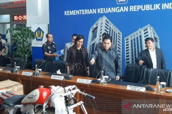 Erick Thohir copot Dirut Garuda karena kasus motor Harley diduga selundupan