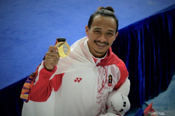 Emas dan SEA Games terakhir bagi pesenam Agus Prayoko
