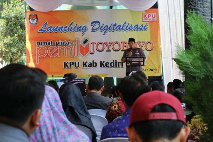 Di Kediri, KPU Jatim resmikan digitalisasi rumah pintar pemilu