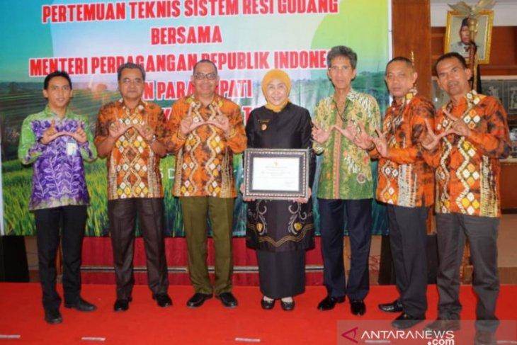 Noormiliyani raih penghargaan sistem resi gudang