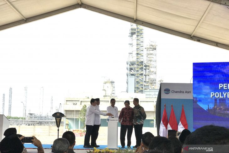 President inaugurates Chandra Asri's polyethylene plant in Banten