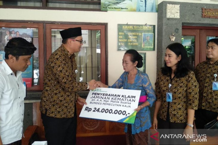 BPJAMSOSTEK Bali-Denpasar dorong kepesertaan pengurus desa